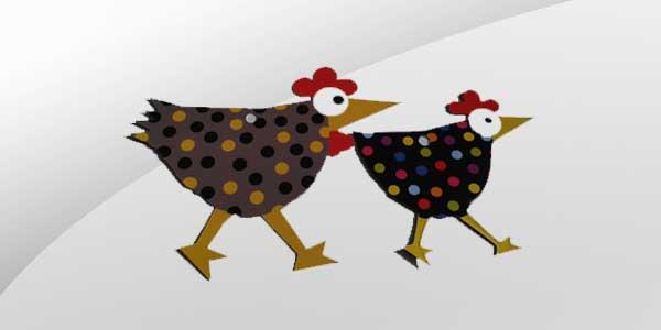 Les poulettes en fêtes !