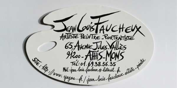 Carte De Visite Pour Artiste Peintre Voyage Au Bout Loffset