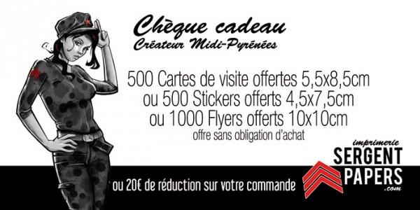 Les chèques cadeaux créateur Midi Pyrénées font peau neuve !