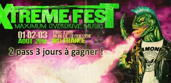 L'Xtreme Fest et Sergent Papers s'associent pour vous faire gagner 2 pass (de 3 jours!).