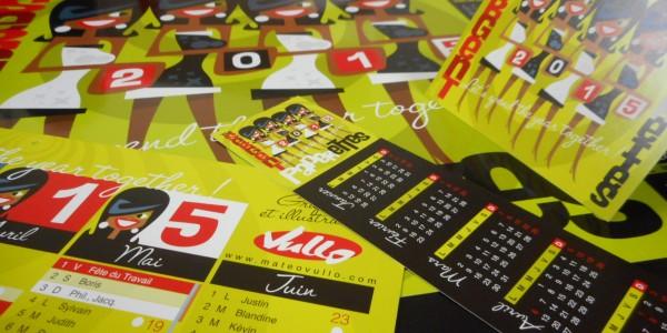 Les calendriers 2015 disponibles !